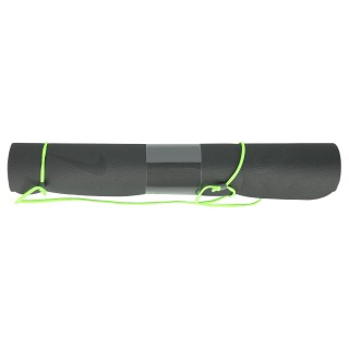 NIKE Saltele FUNDAMENTAL YOGA MAT (3MM) ANTHRACITE/VOLTAGE GREEN/ANTHRACITE