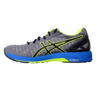 ASICS Pantofi sport GEL-DS TRAINER 22 CARBON/BLACK/SAFETY YELLOW
