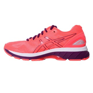ASICS Pantofi sport GEL-NIMBUS 19 FLASH CORAL/DARK PURPLE/WHITE