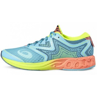 ASICS Pantofi sport NOOSA FF AQUARIUM/FLASH CORAL/SAFETY YELLOW
