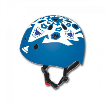 TWIST JR HELMET (CE) WHITE/BLUE BOY