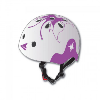 ROLLERBLADE Casca protectie TWIST JR HELMET (CE) WHITE/PURPLE GIRL