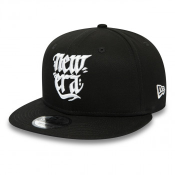 NEW ERA Sepci KAPA NEW ERA SCRIPT 9FIFTY NE BLKWHI  ŠT:S/M