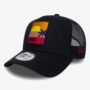NEW ERA Sapca KAPA NE LOCATION AF TRUCKER NVY