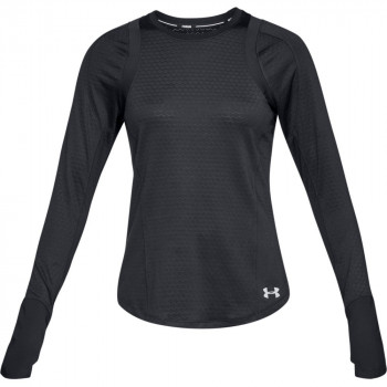 UNDER ARMOUR Tricouri maneca lunga HEX DELTA LONG SLEEVE
