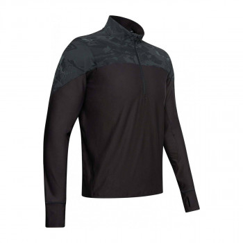 UNDER ARMOUR Tricouri maneca lunga UA QUALIFIER CAMO HALF ZIP