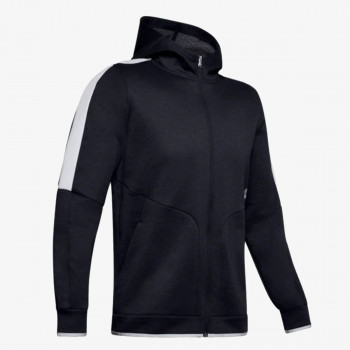 UNDER ARMOUR Hanorace cu fermoar ATHLETE RECOVERY FLEECE FULL ZIP