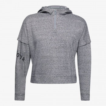 UNDER ARMOUR Hanorace UA RIVAL TERRY 1/2 ZIP HOODIE