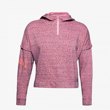 UNDER ARMOUR Hanorac UA Rival Terry 1/2 Zip Hoodie