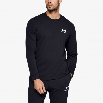 UNDER ARMOUR Tricouri maneca lunga SPORTSTYLE TERRY LOGO CREW