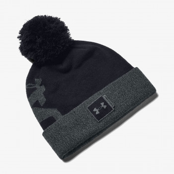 UNDER ARMOUR Fesuri UA Big Pom Logo Beanie