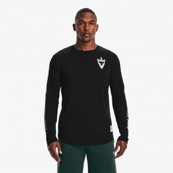 UNDER ARMOUR Tricou maneca lunga UA Project Rock Same Game LS