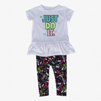 NIKE Seturi NKG SCRIBBLE TUNIC LEGGING SET