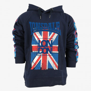 LONSDALE Hanorace LONSDALE BOYS HOODY
