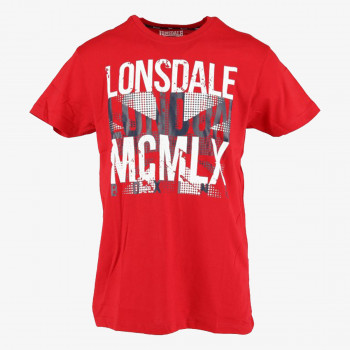 LONSDALE Tricouri LONSDALE FLAG S19 TEE