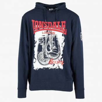 LONSDALE Hanorace LONSDALE GLOVE S19 HOODY