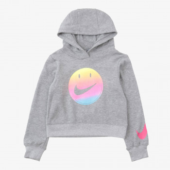 NIKE Hanorace NKG NIKE SMILEY CROPPED PO