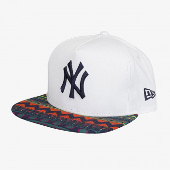 NEW ERA Sapca SUNNY SNAP NEW YORK YANKEES OPTIC WHITE/