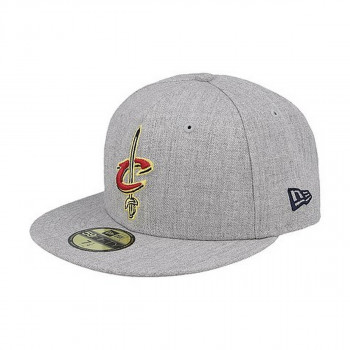 NEW ERA Sepci NBA HEATHER FITTED CLECAV