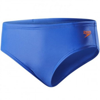 SPEEDO Slipuri ESS LOGO 6.5CM BRF JM BLUE/ORANGE
