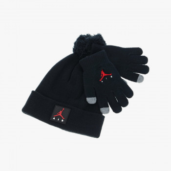 HADDAD SET JORDAN JAN AIR PATCH BEANIE SET