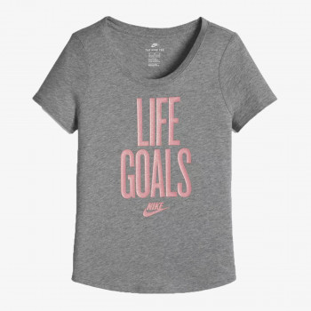 NIKE Tricouri G NSW TEE SCOOP LIFE GOALS