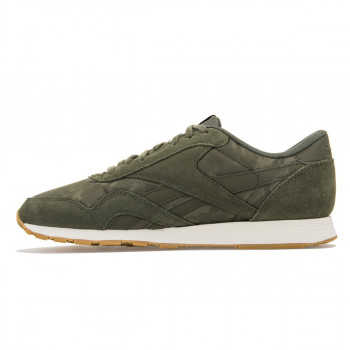 Reebok Pantofi sport CL NYLON SG HUNTER GREEN/CHALK