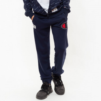 CHAMPION PANTALONI DE TRENING BOYS ALL OVER RIB CUFF PANTS