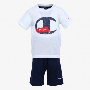 CHAMPION Seturi BOYS LOGO SET