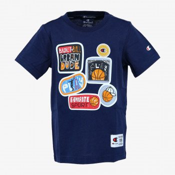 CHAMPION Tricouri BOYS PATCH T-SHIRT