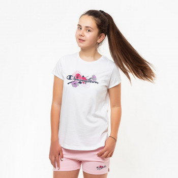 CHAMPION Tricouri GIRLS FLOWER T-SHIRT