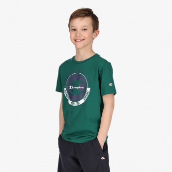 CHAMPION Tricou BOYS BIG LOGO T-SHIRT