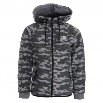 CHAMPION Hanorace cu fermoar CAMO TECH FULL ZIP HOODY
