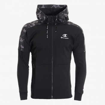 CHAMPION Hanorace cu fermoar PRINTED TECH FULL ZIP HOODY