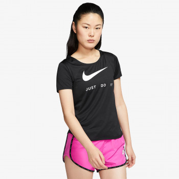 NIKE Tricouri W NK TOP SS SWSH RUN