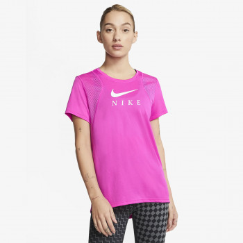 NIKE Tricouri W NK RUN TOP SS GX