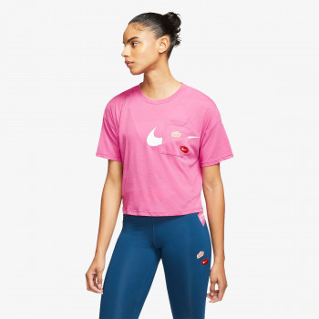 NIKE TRICOURI W NK S/S TOP GX ICNCLSH WOW