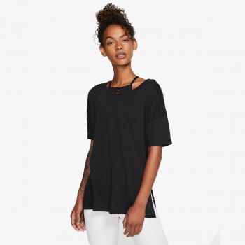 NIKE Tricou W NK YOGA LAYER SS TOP