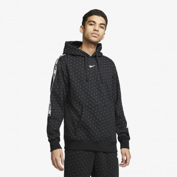 NIKE Hanorac M NSW REPEAT FLC PO HOOD PRNT