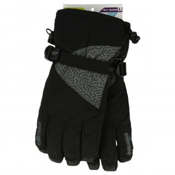 ELLESSE Manusi ELLESSE 3 IN1 SKI GLOVE WOMEN  BLACK