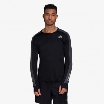 adidas Bluze adidas Own the Run Long Sleeve Tee
