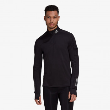 adidas Bluze adidas Own the Run 1/2 Zip Warm Sweatshirt