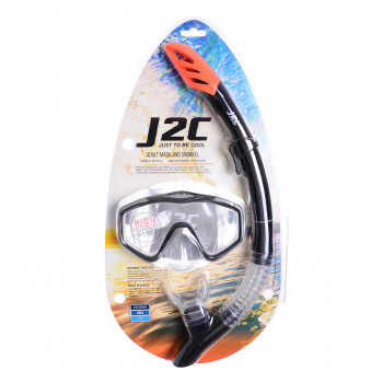 J2C Masca de scufundare SET MASK AND SNORKEL