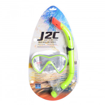 J2C Seturi inot J2C MASK SNORKEL SET  JUNIOR
