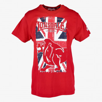 LONSDALE Tricouri FLAG LION TEE