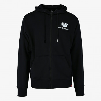 NEW BALANCE Hanorace ESSENTIALS STACKED FULL ZIP HOODIE