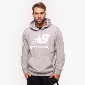 ESSENTIALS STACKED LOGO PO HOODIE
