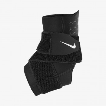 JR NIKE Bretele NIKE PRO ANKLE SLEEVE WITH STRAP BLACK/W