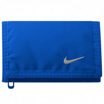 NIKE Portofele NIKE BASIC WALLET GAME ROYAL/WHITE