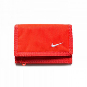 NIKE Portofele NIKE BASIC WALLET BRIGHT CRIMSON/WHITE